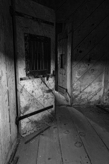 Jail in Bodi, California ghost town
